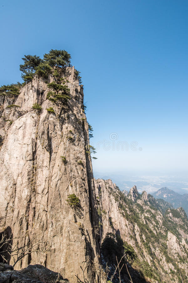 Huangshan Mountain(yellow mountain) stock photo