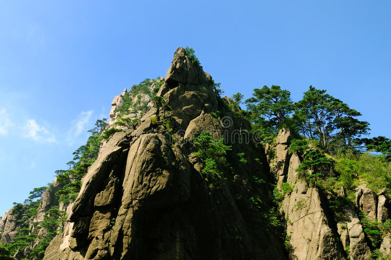 Huangshan oerhört porslin arkivfoton