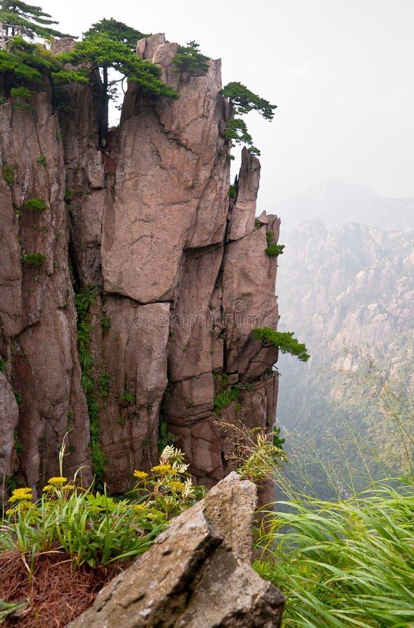 Huangshan peak stock photography