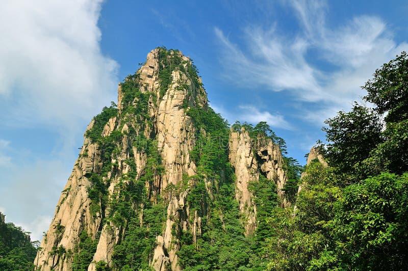 Huangshan, porcelaine incroyable photographie stock libre de droits
