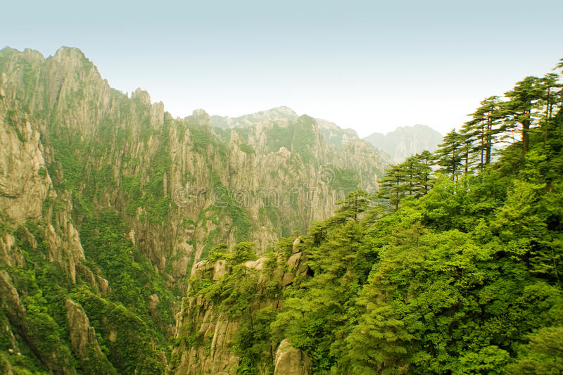 Huangshan, porcellana incredibile fotografia stock libera da diritti