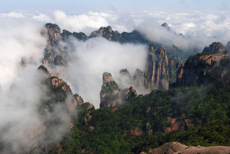 Huangshan (yellow mountain) stock image