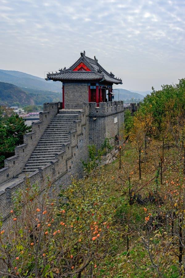 Huangyaguan Grote Muur royalty-vrije stock fotografie