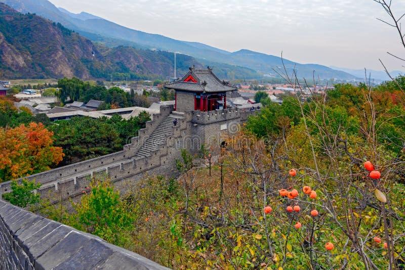 Huangyaguan Grote Muur royalty-vrije stock afbeelding