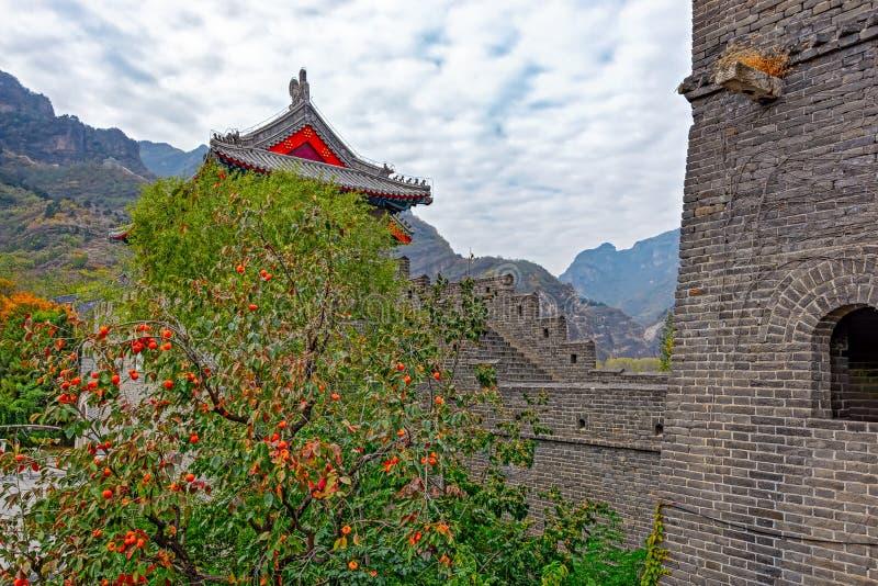 Huangyaguan Grote Muur stock foto