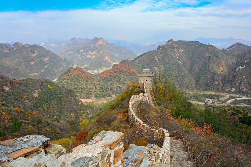 Huangyaguan Grote Muur royalty-vrije stock foto's