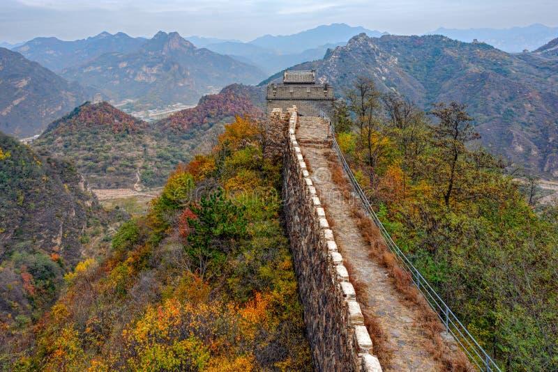 Huangyaguan wielki mur zdjęcia stock