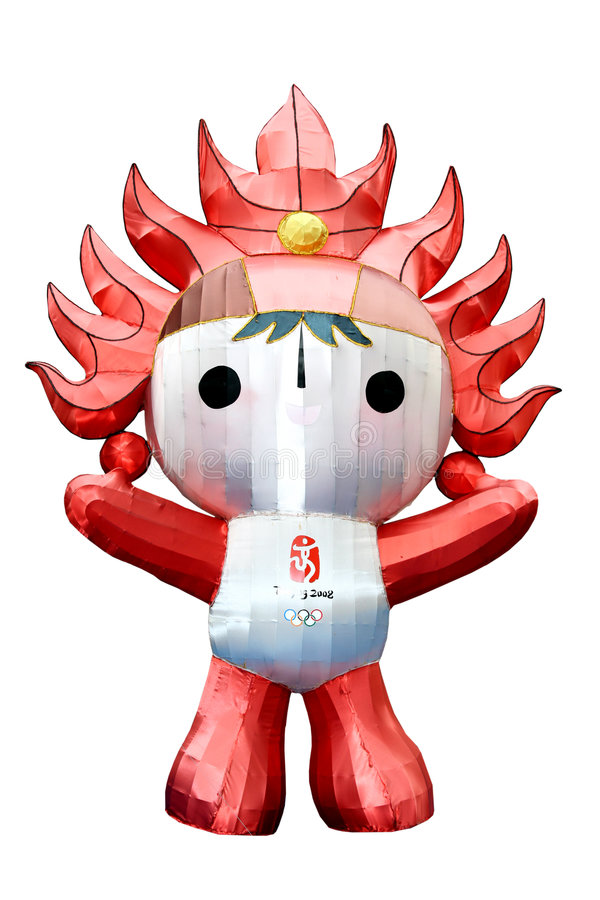 Huanhuan a mascote olímpica de Beijing