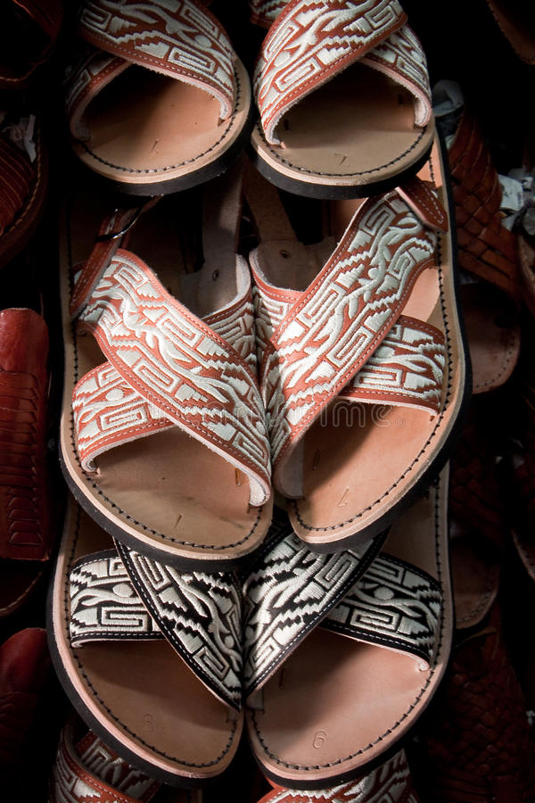 Huaraches messicano fotografia stock
