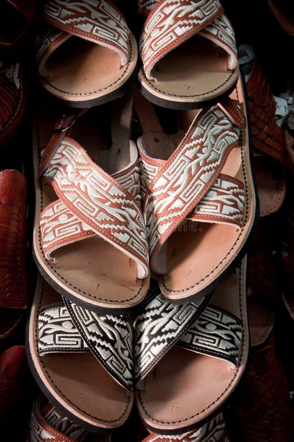 Huaraches mexicano fotografia de stock