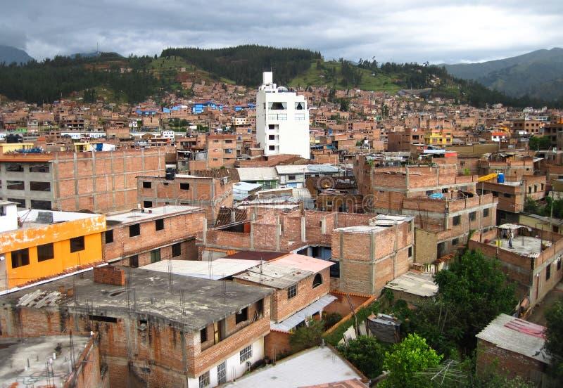 Huaraz, Perù immagini stock libere da diritti