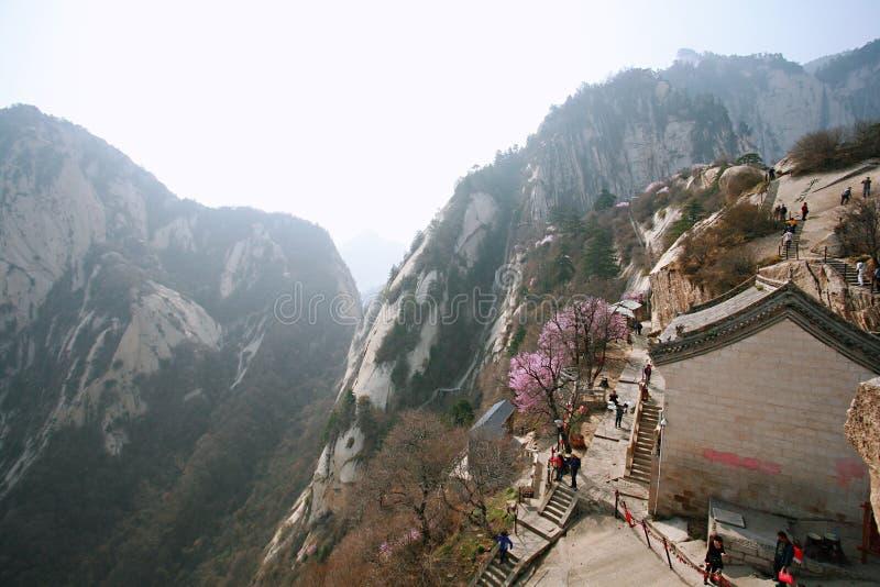 huashan βουνό στοκ φωτογραφίες με δικαίωμα ελεύθερης χρήσης
