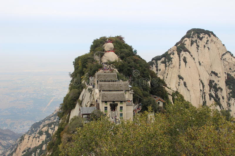 Huashan Cang långa Ridge arkivfoto