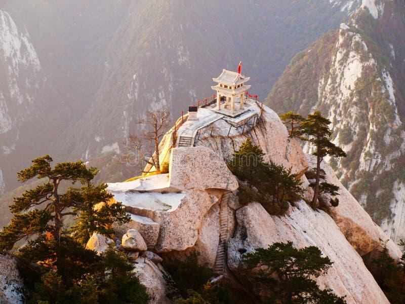 huashan pagodasten arkivbilder