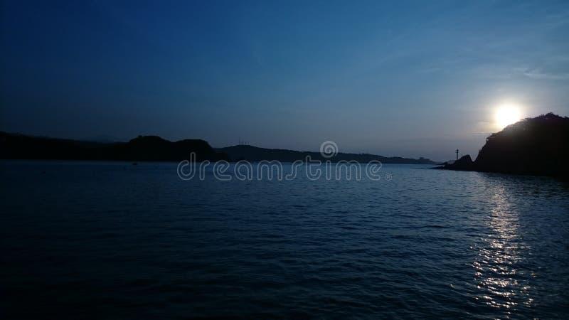 Huatulco海滩在瓦哈卡 库存图片