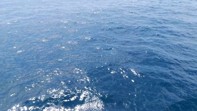 Huatulco azul natural da água do oceano do mar fotos de stock