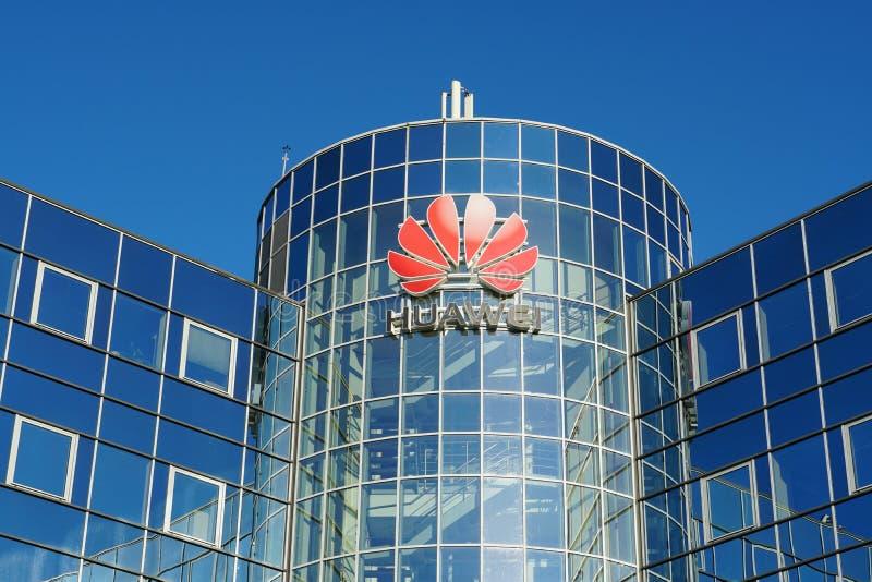 Huawei-Büro in den Niederlanden stockfoto