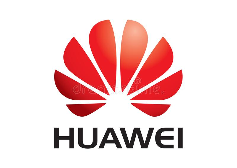 Huawei logo ilustracji