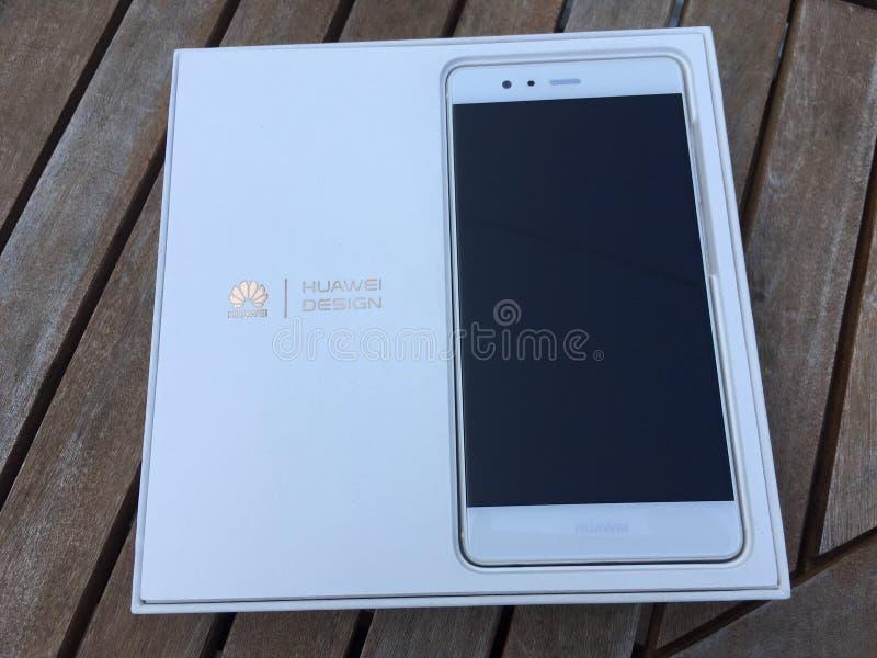 Huawei p9 celular foto de archivo