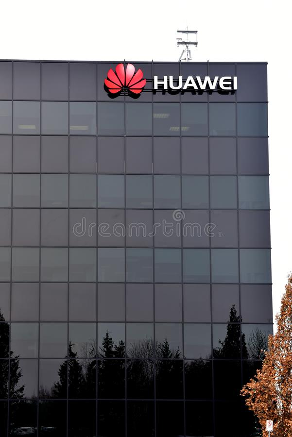 Huawei Research & Development Centre in Canada stock photos