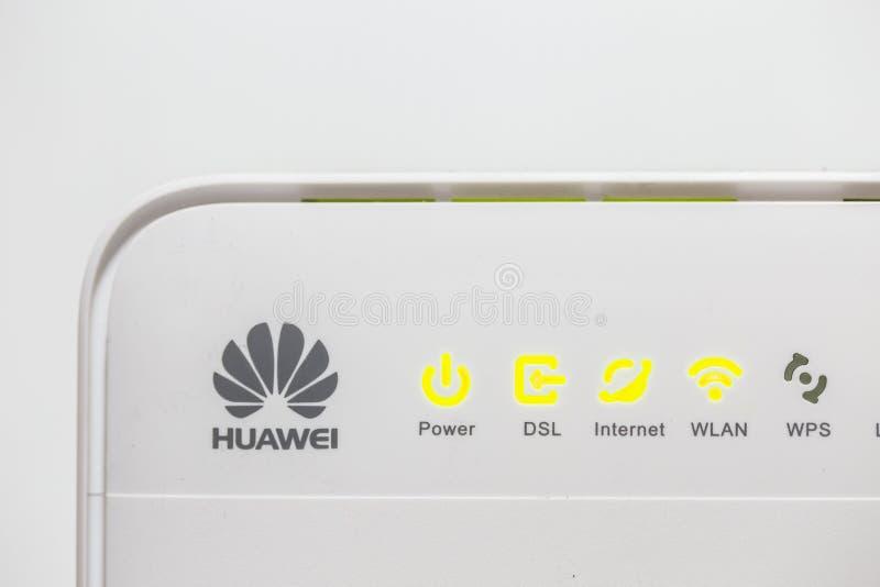 Huawei WiFi Router Modem royalty free stock photos