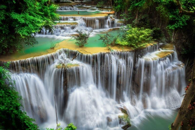 Huay Mae Ka Min Waterfall Royalty Free Stock Image