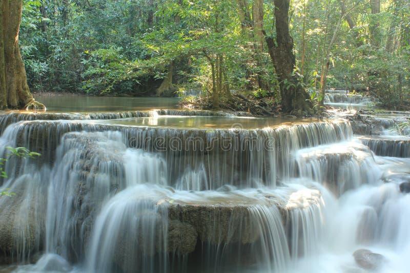 Huay Mae Kamin Waterfall. stock photography