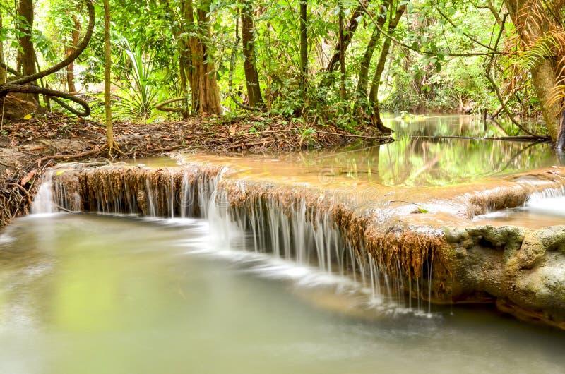 Huay Mae Khamin , Waterfall royalty free stock image