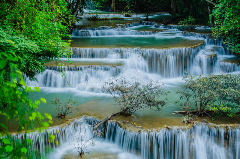 Download Huay Mae Khamin - Waterfall. Stock Image - Image: 31827591
