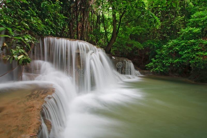 Download Huay Mae Khamin Waterfall Third Level, Thailand Stock Photo - Image: 15912534