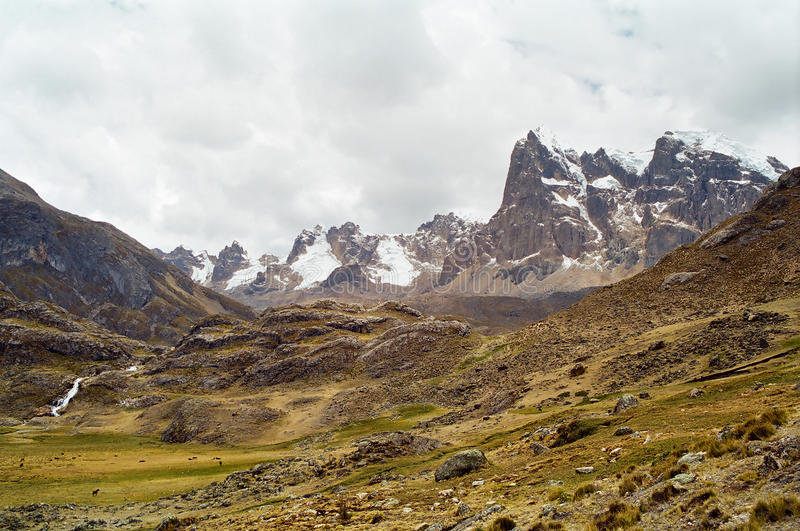 huayhuash ταξίδι του Περού στοκ φωτογραφίες με δικαίωμα ελεύθερης χρήσης