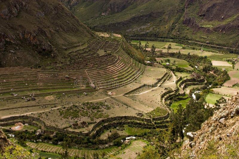 Huayllabamba à Yuncachimpa photos stock