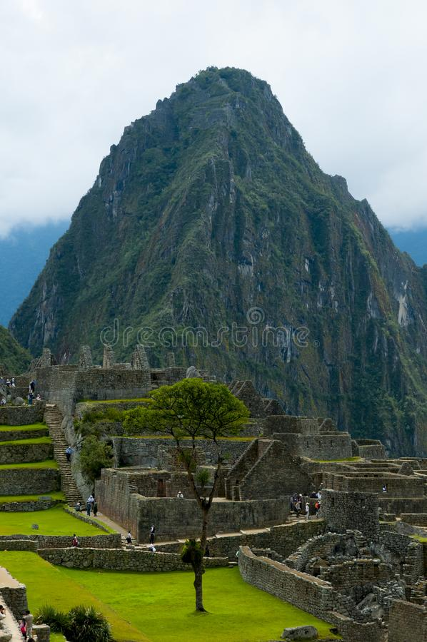 Huayna Picchu Mountain stock photos
