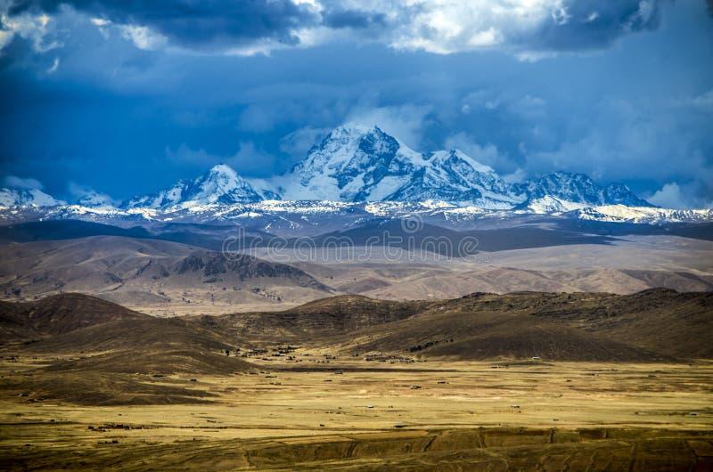 Huayna Potosi, Боливия стоковое изображение