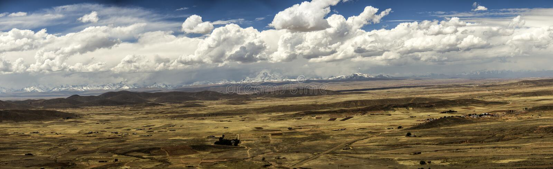 Huayna Potosi, Bolivia. stock images