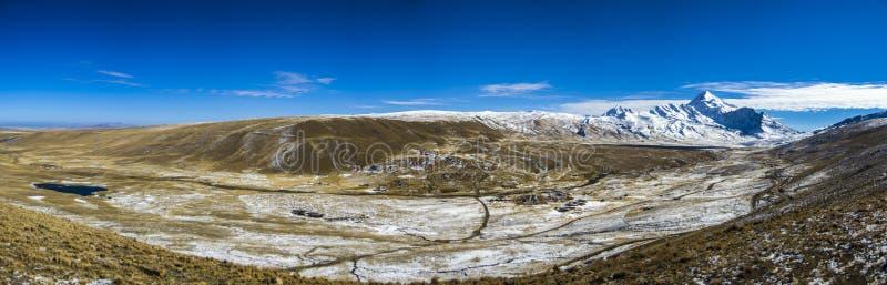 Huayna Potosi, Bolivia. stock photos