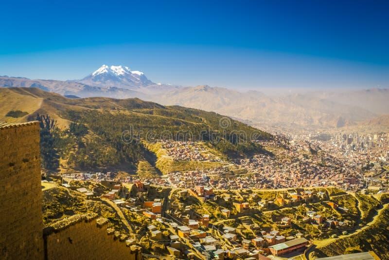 Huayna Potosi en Bolivia fotografía de archivo
