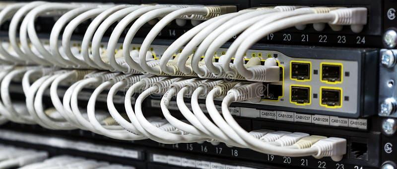 Hub de réseau photos stock