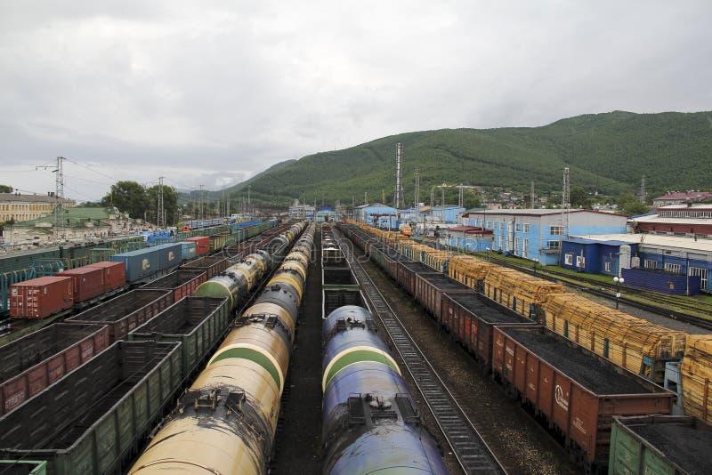 Hub ferroviario fotografia stock libera da diritti
