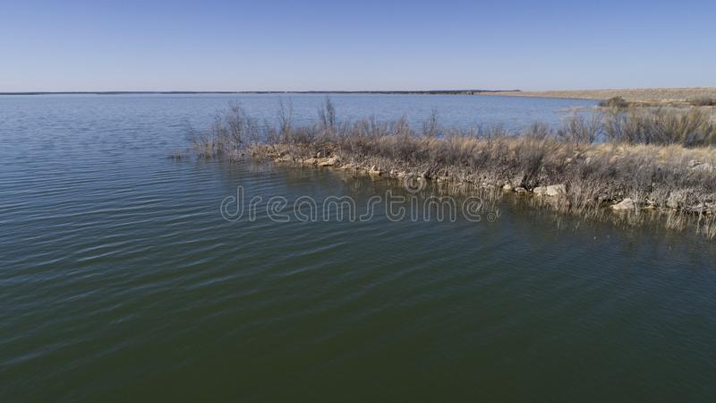 Hubbard Creek Reservoir, TX stock photo