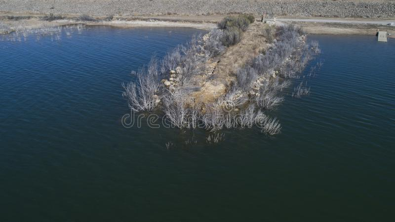 Hubbard Creek Reservoir, TX royalty free stock image
