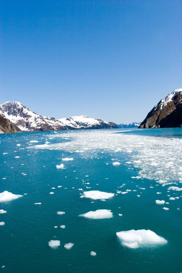 Hubbard Glacier. In Seward, Alaska royalty free stock photos
