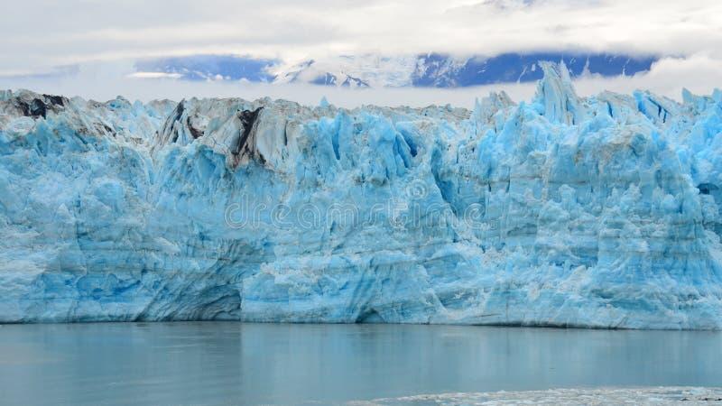 Hubbard glacier, Alaska & Yukon Canada. Hubbard glacier is located in eastern Alaska and the Yukon of Canada, named after Gardiner Hubbard. The largest tidewater stock photo