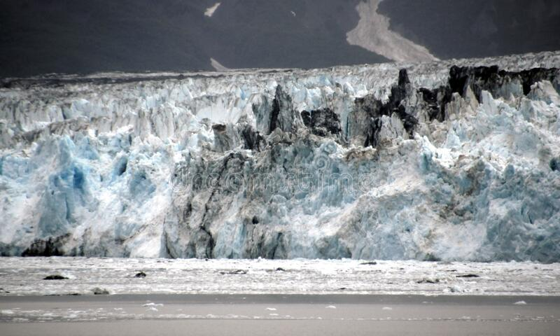Hubbard Glacier 3 royalty free stock photos