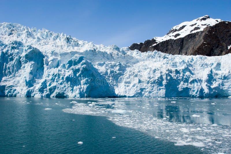 Hubbard Glacier in Seward, Alaska royalty free stock images