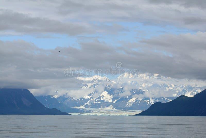 Hubbard Glacier and Yakutat Bay, Alaska. royalty free stock photo