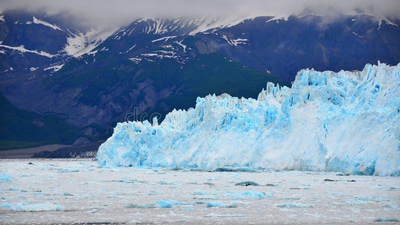Hubbard Glacier, Yukon, Alaska stock photography
