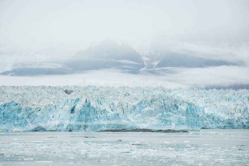 Hubbard-Gletscher, Alaska stockfotografie