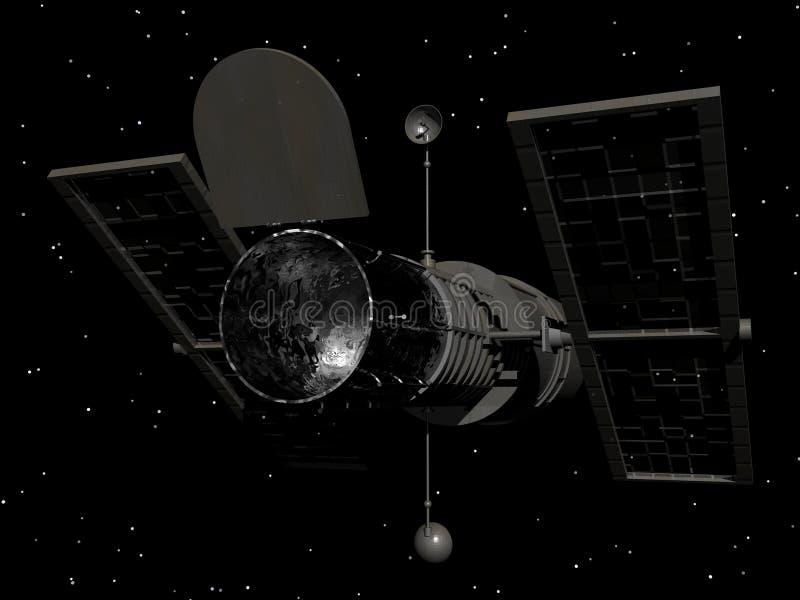 Hubble Telescope ilustración del vector