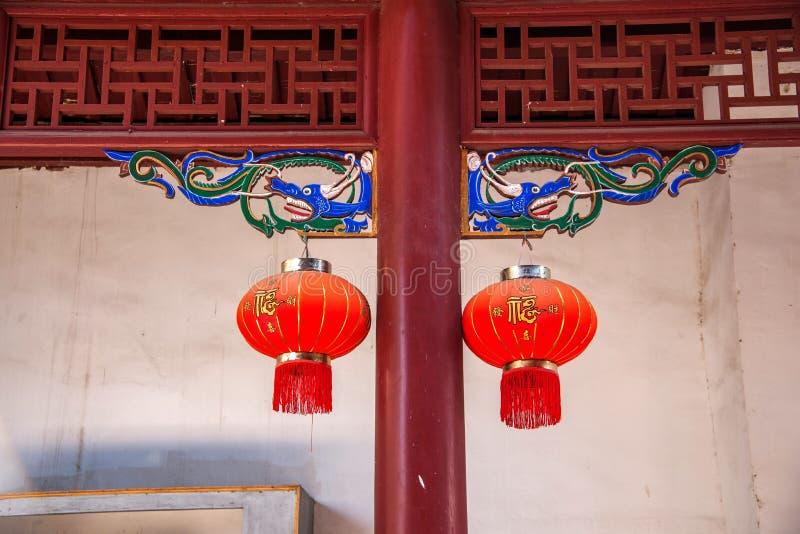 Hubei Yiling Huangling tempel royaltyfria bilder